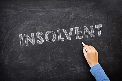 """Photo """"Insolvency"""" by Credit Score Blog, under CC BY 2.0"""